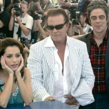 Brittany Murphy, Mickey Rourke e Benicio del Toro