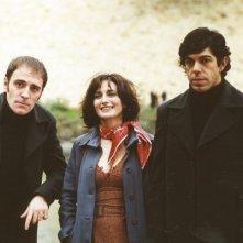 Pierfrancesco Favino, Lorenza Indovina e Valerio Mastandraa in Nessun messaggio in segreteria