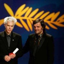 Jim Jarmusch con Kusturica il premio della giuria