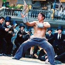Chiu Chi Ling in una scena di Kung Fusion