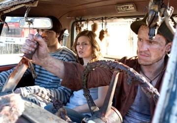 Damon Herriman Jared Padalecki Ed Elisha Cuthbert In Una Scena De La Maschera Di Cera 14639