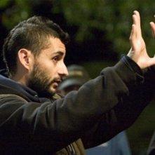Jaume Collet Serra sul set de La maschera di cera