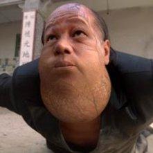 Leung Siu Lung in una scena di Kung Fusion