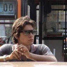 Riccardo Scamarcio sul set di Romanzo criminale