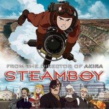 La locandina internazionale di Steamboy