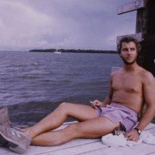 Una sexy immagine di William Petersen in una scena di Manhunter
