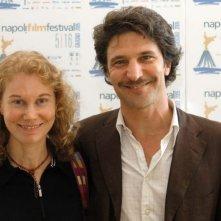 Andrea Renzi e Catherine McGilvray al Napoli Film Festival 2005