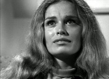 Judith O'Dea in una scena de La notte dei morti viventi