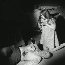 Karl Hardman in una scena de La notte dei morti viventi