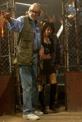 George A Romero Ed Asia Argento Sul Set Di Land Of The Dead 15381