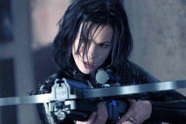 Kate Beckinsale in una foto tratta dal film Underworld: Evolution