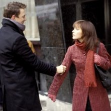 Matthew Lillard e Rose Byrne  in una scena di Appuntamento a Wicker Park