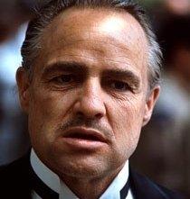 Marlon Brando in una scena de Il Padrino