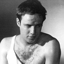 Marlon Brando in una immagine di Un tram che si chiama Desiderio