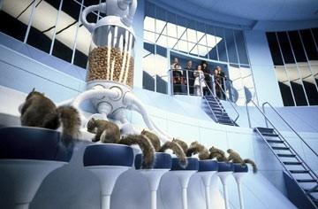 Una scena de  La fabbrica di cioccolato