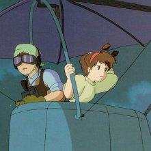 Il castello nel cielo: una colorata scena del film