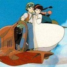 Il castello nel cielo: un'immagine tratta dal film