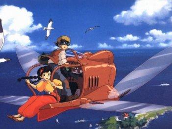 Il castello nel cielo: una scena del film diretto da Hayao Miyazaki