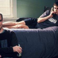 Ian Somerhalder e James Van Der Beek in una scena de Le regole dell'attrazione