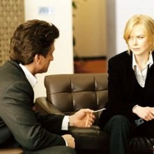 The Interpreter: Nicole Kidman e Sean Penn in una scena del film