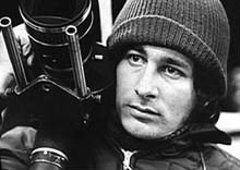 Steven Spielberg sul set di Duel
