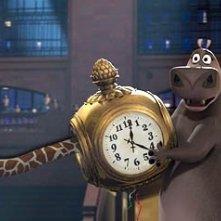 Una scena del film Madagascar del 2005