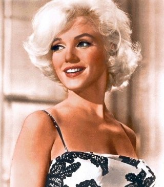 Una splendida Marilyn Monroe in una foto per la prova makeup di Something's Got to Give
