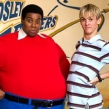 Kenan Thompson e Aaron Carter in una scena di Fat Albert