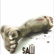 Manifesto americano di Saw con un piede amputato