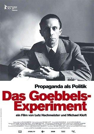 La Locandina Di Das Goebbels Experiment 15888