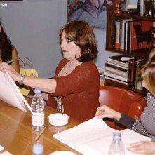Carmen Maura e Penelope Cruz durante le prove di Volver in una foto scattata da Almodovar