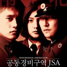 La locandina di J.S.A. - Joint Security Area