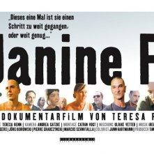 La locandina di Janine F.