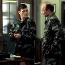 Ed Harris e Joaquin Phoenix in una scena di Buffalo Soldiers