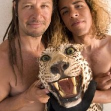 Tony Alva e Victor Rasuk in una scena di Lords of Dogtown