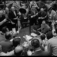 Una scena de L'ECLISSE: la confusione della Borsa valori
