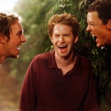 Dax Shepard, Matthew Lillard e Seth Green in una scena di Without a Paddle