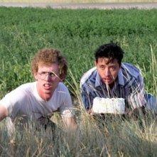 Jon Heder e Efren Ramirez in una scena di Napoleon Dynamite