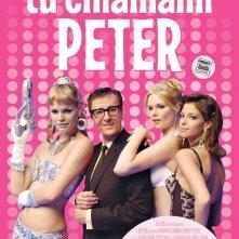 La locandina italiana di Tu chiamami Peter