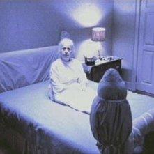 Il demone Pazuzu mostra a Padre Karras la madre morta