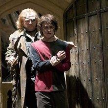 Brendan Gleeson e Daniel Radcliffe