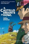 La locandina italiana de Il castello errante di Howl