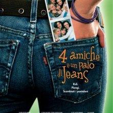 La locandina italiana di 4 amiche e un paio di jeans
