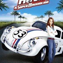 La locandina italiana di Herbie, il supermaggiolino