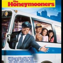 La locandina italiana di The Honeymooners