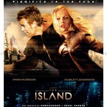 La locandina italiana di The Island