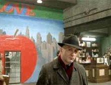 Noodles (Robert De Niro) e la porta della memoria in C'ERA UNA VOLTA IN AMERICA