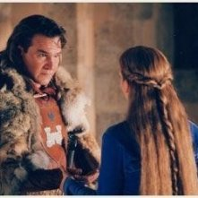 Patrick Swayze e Piper Perabo in una scena di George and the Dragon