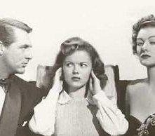 Cary Grant, Sherley Temple e Mirna Loy in una foto promozionale de L'INTRAPRENDENTE SIGNOR DICK