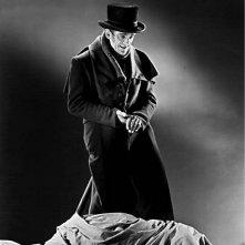 Boris Karloff in una scena de LA IENA